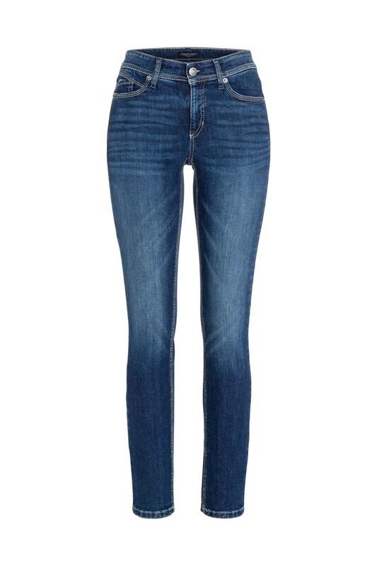 Cambio Parla Mid Blue Wash Jeans