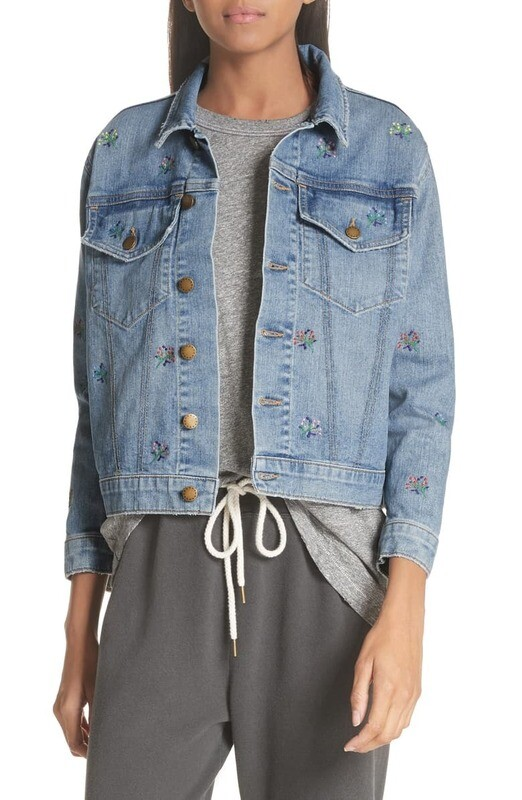 The Great Embroidered Jean Jacket
