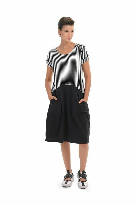 Alembika Tech Stripe Dress