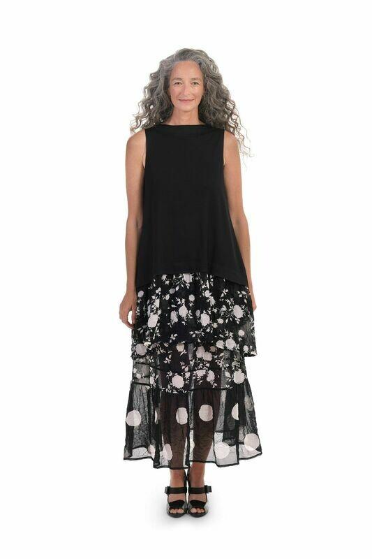 Alembika Chiffon Crinkle Skirt