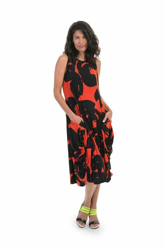 Alembika Art Print Tank Dress