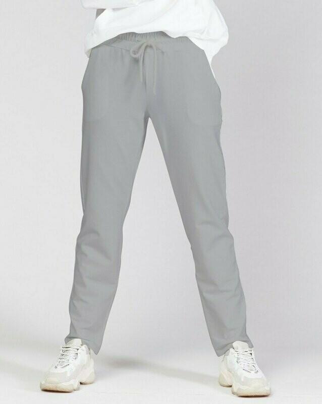 Baci Gray Drawstring Sweat Pant