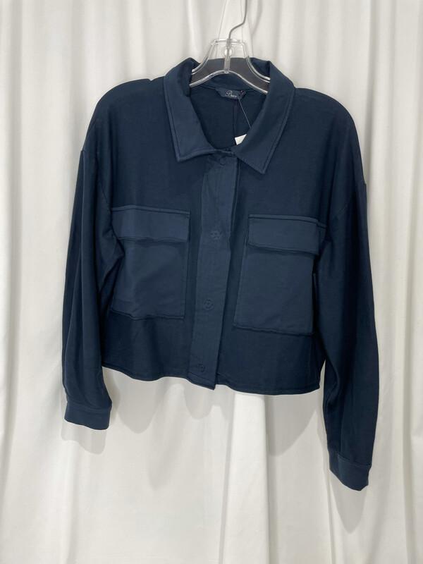 Baci Navy Pocket Jacket