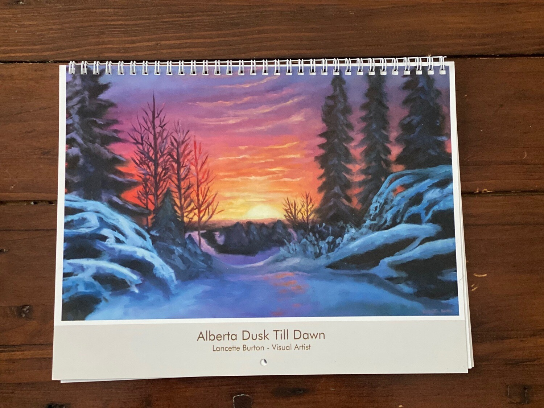 2021 Alberta Dusk Till Dawn Art Calendar
