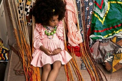 LAYNAH MARION CONCH DRESS