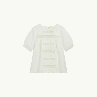 NILO BLOUSE W BRODERIE