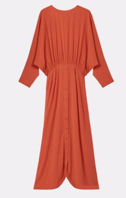 ELYSANDRA RAW UMBRA DRESS