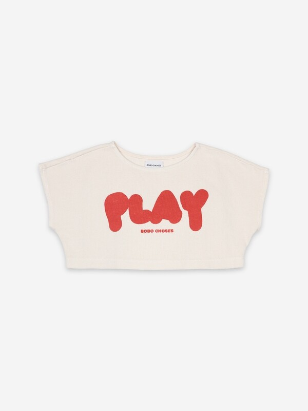 PLAY CROPPED SWEATER