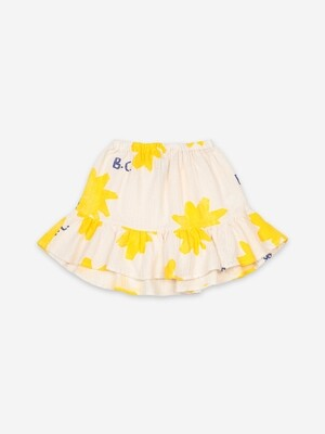 SPARKLE ALL OVER RUFFLE MINI SKIRT