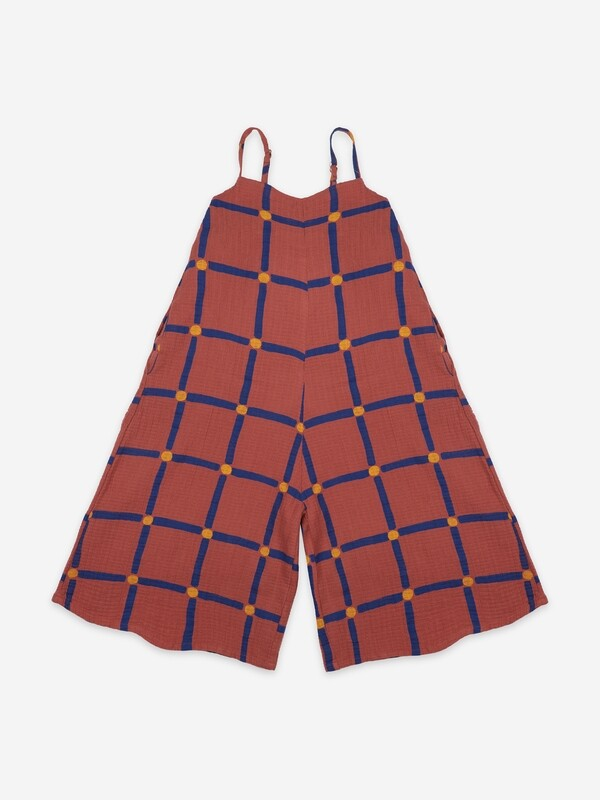 CUBE ALL OVER WOVEN OVERALL