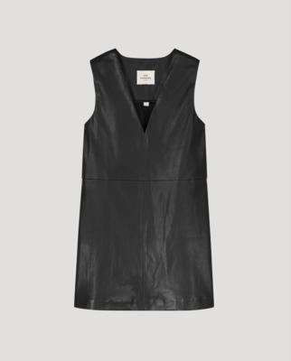 GIULIA LEATHER DRESS
