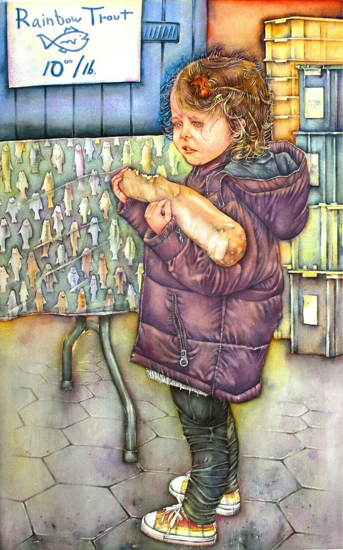 "Wall Art Watercolor Prints | ""Assimilation"""