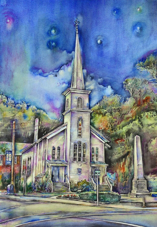 "Fine Art Prints   ""Presbytrian Church"""