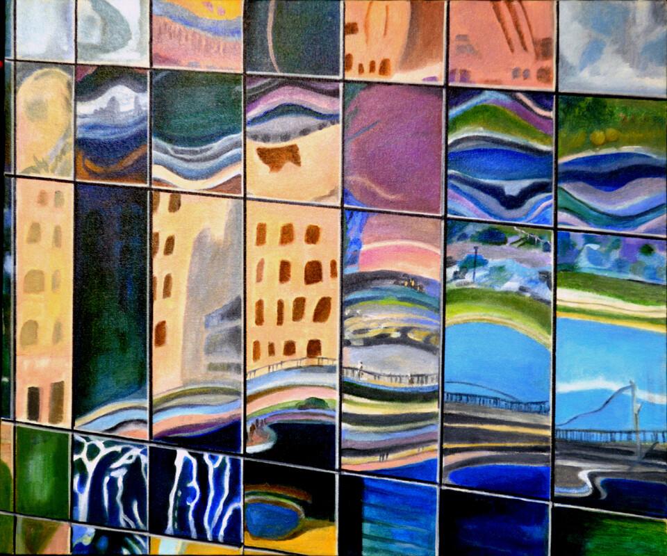 "Art Decoration Prints   ""Reflections"""