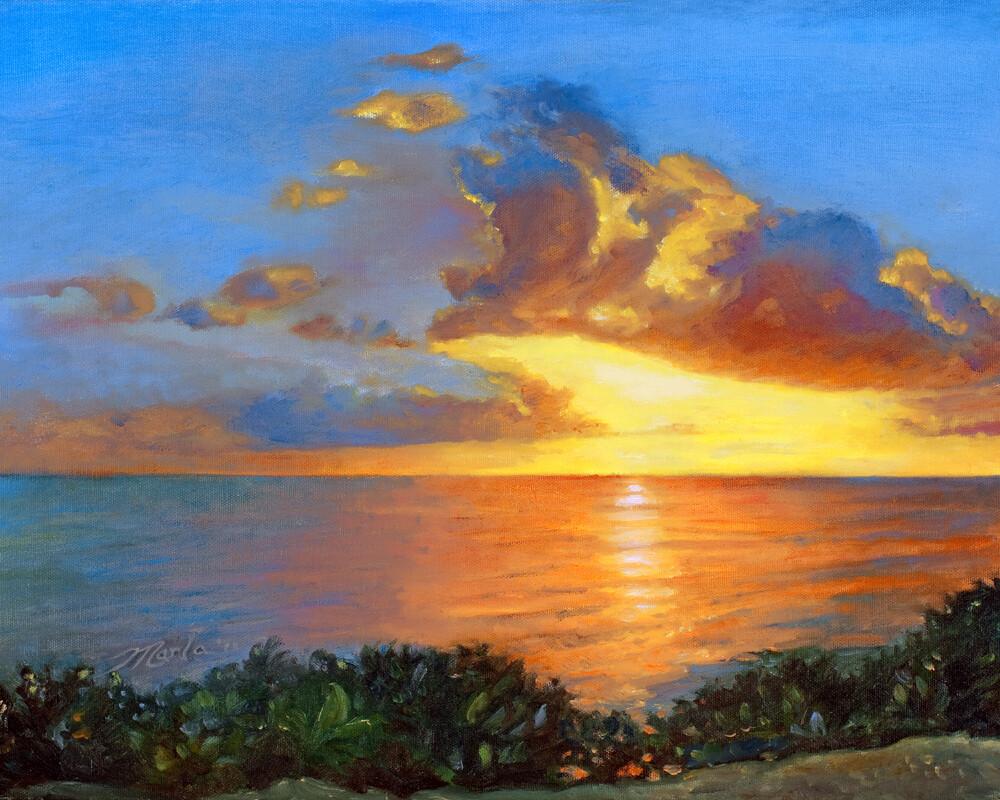 "Office Decor Giclee' Prints | ""Sunset"""