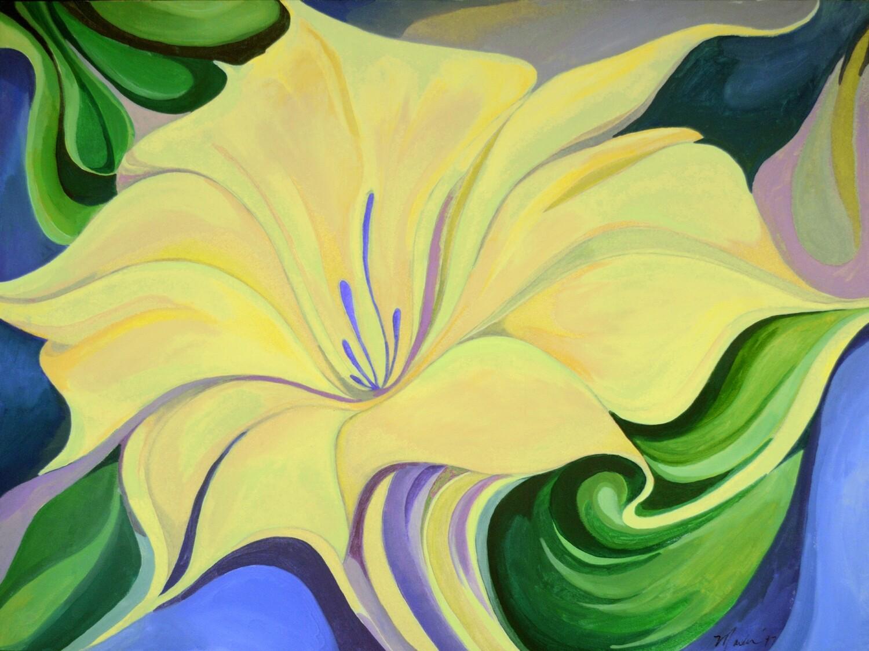 "Fine Art Original Prints | ""Yellow Beauty"""