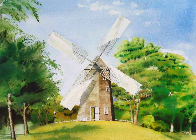 """East Hampton Windmill"""