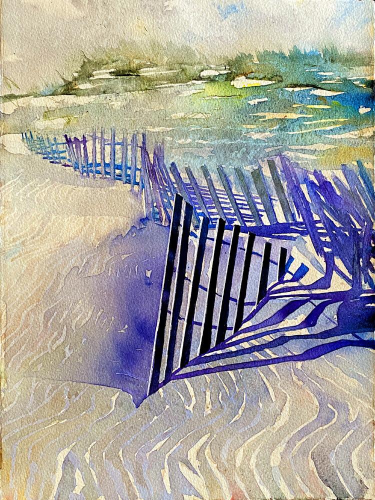 "Buy Original Art Work Prints | ""Holding Down Dunes"""