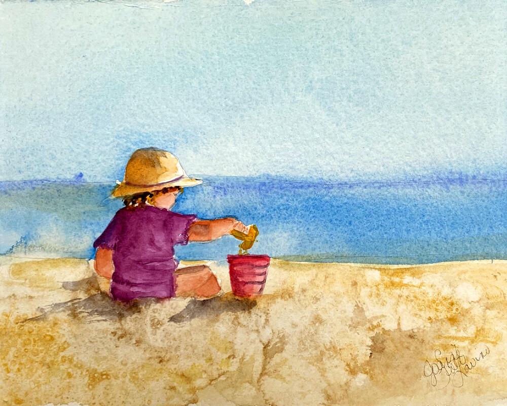 "Fine Art Prints | ""My Sandbox"""