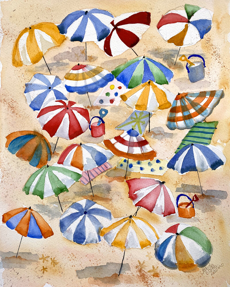 """Wall Art Watercolor Prints 