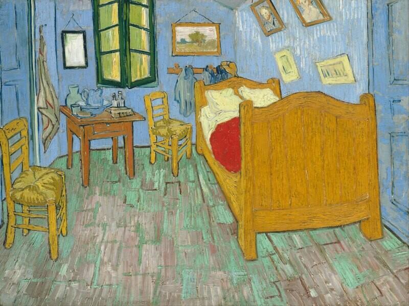 Vincent van Gogh | Bedroom in Arles