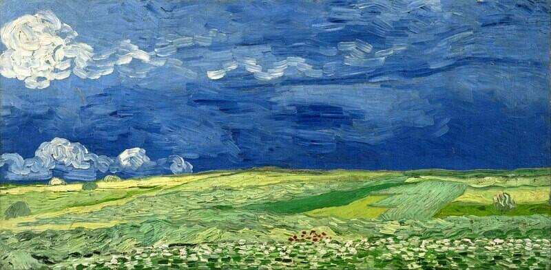 Vincent van Gogh | Wheatfield under Thunderclouds