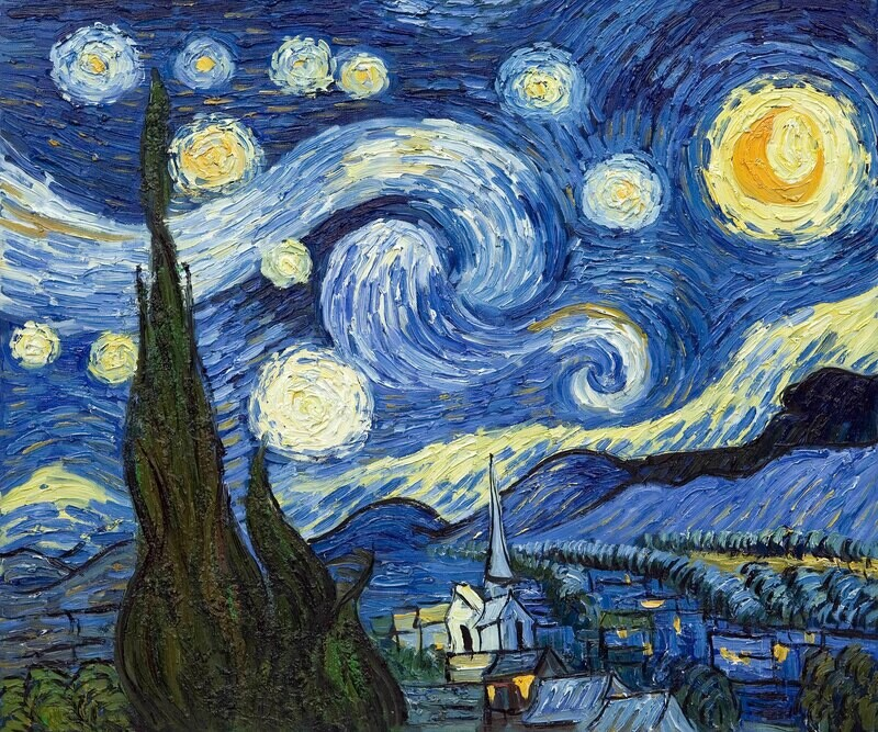 Vincent van Gogh | The Starry Night