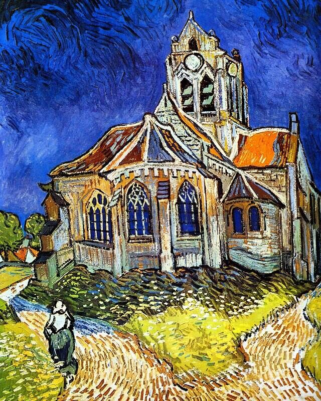 Vincent van Gogh | The Church at Auvers