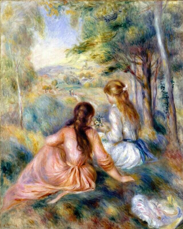 Auguste Renoir   In the Meadow