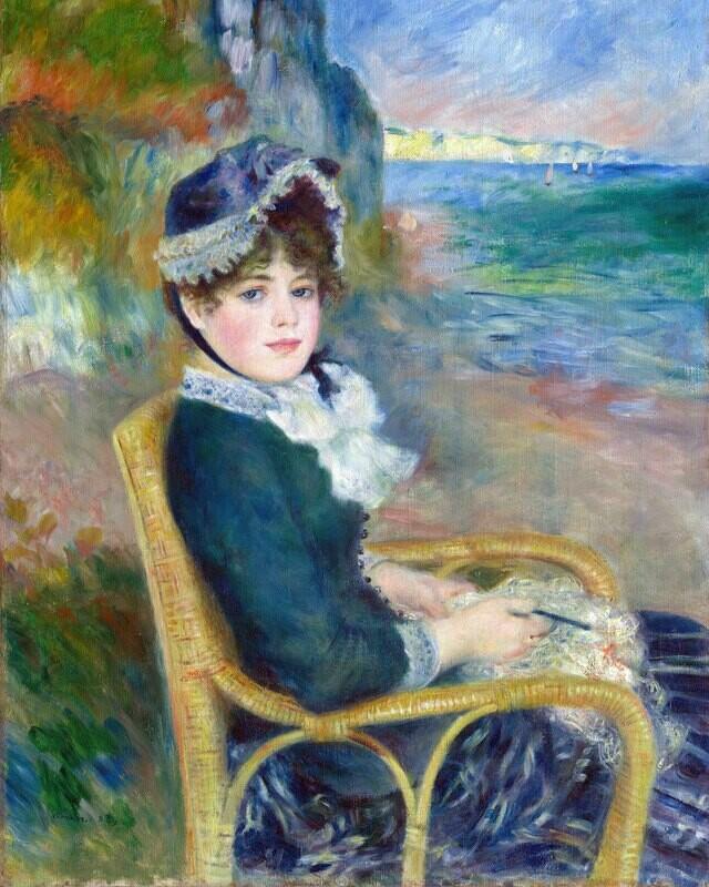 Auguste Renoir   By the Seashore