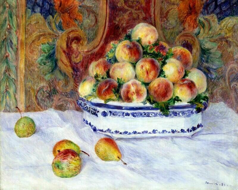 Auguste Renoir   Still Life with Peaches