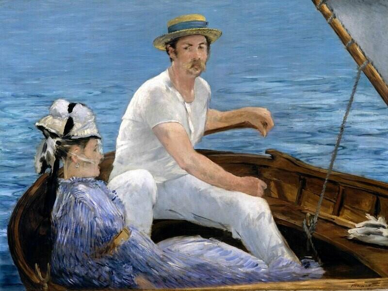 Edouard Manet | Boating