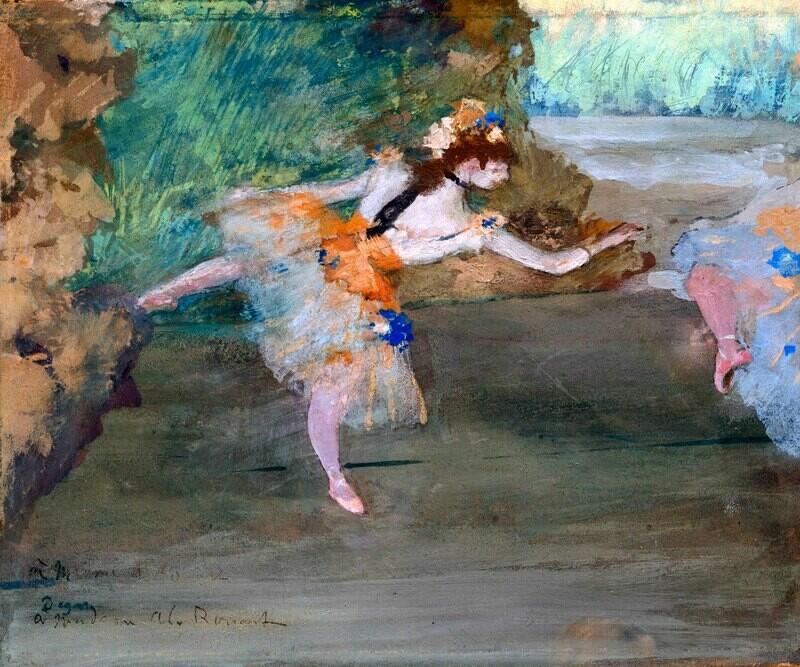 Edgar Degas | Dancer Onstage