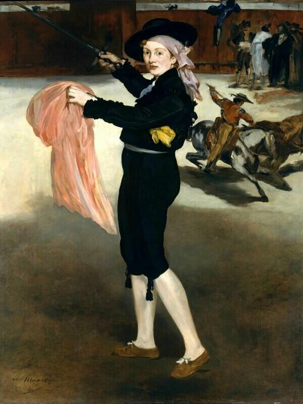 Edouard Manet | Mademoiselle V. . . in the Costume of an Espada