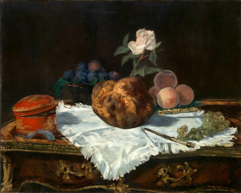 Edouard Manet   The Brioche