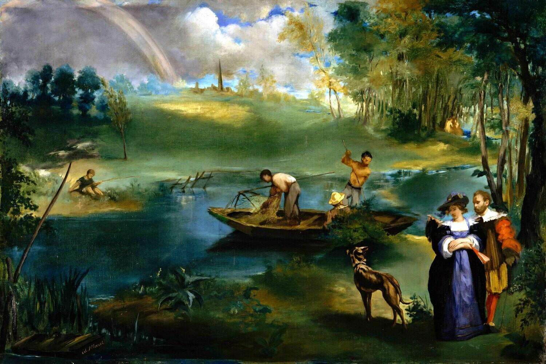 Edouard Manet | Fishing