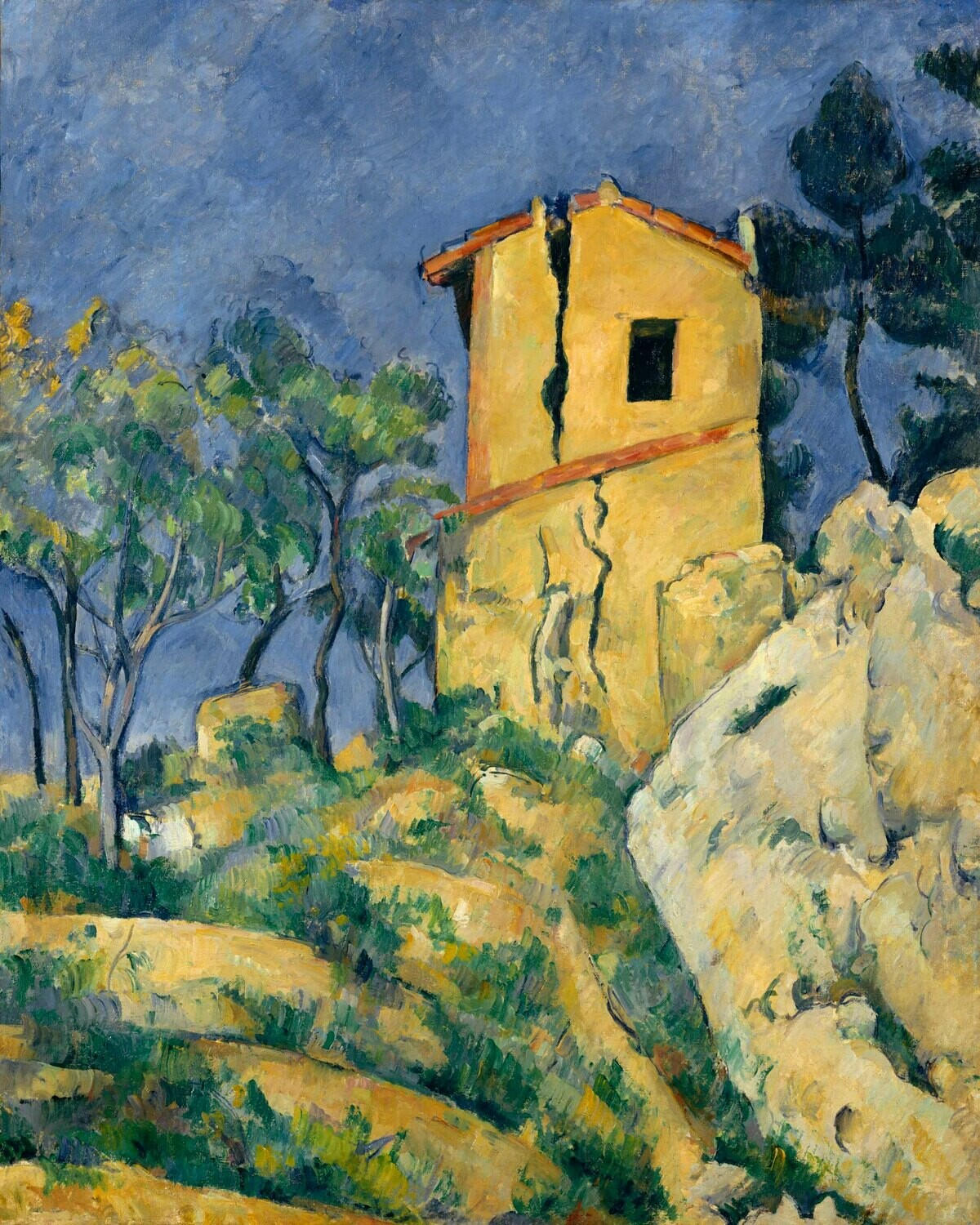 Paul Cézanne | The House with the Cracked Walls