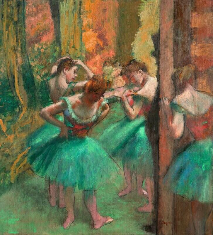 Edgar Degas | Dancers, Pink and Green