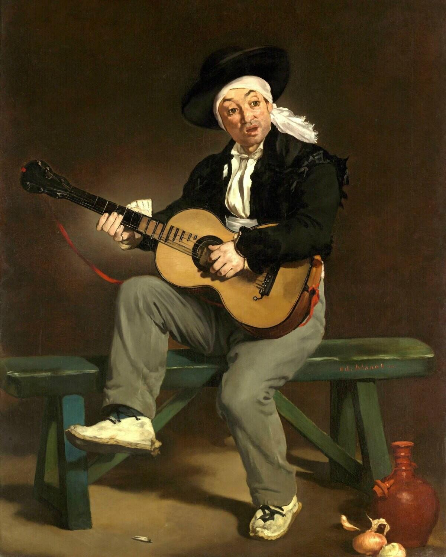 Edouard Manet | The Spanish Singer