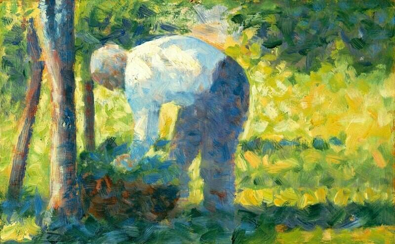 Georges Seurat | The Gardener
