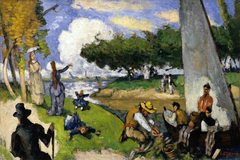 Paul Cézanne   The Fishermen