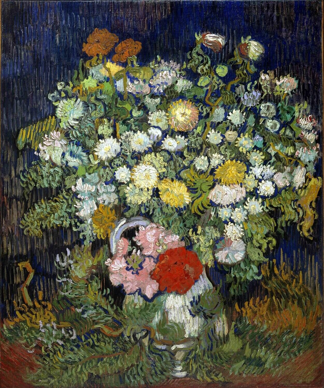 Vincent van Gogh | Bouquet of Flowers in a Vase