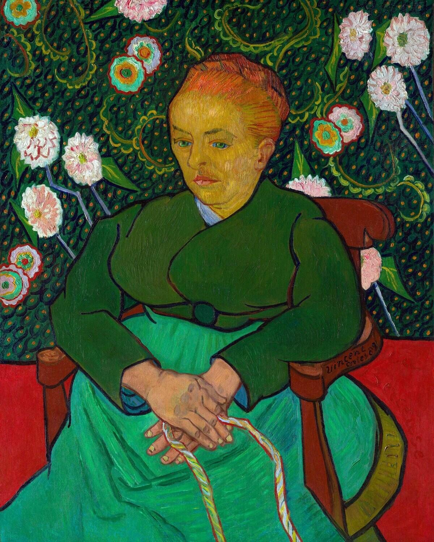 Vincent van Gogh   La Berceuse