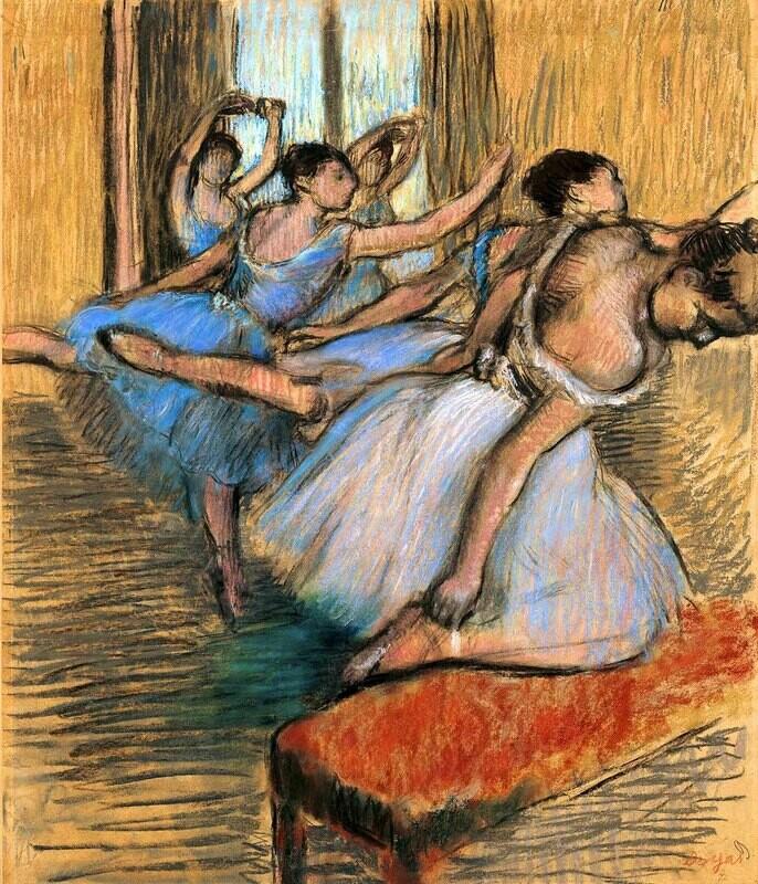 Edgar Degas | The Dancers