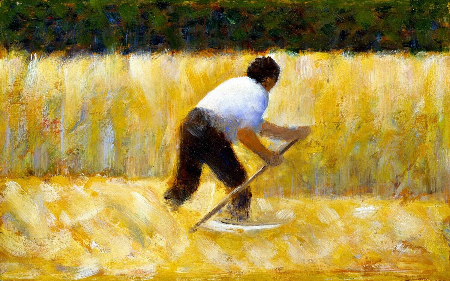 Georges Seurat | The Mower