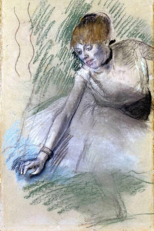 Edgar Degas | Dancer 2