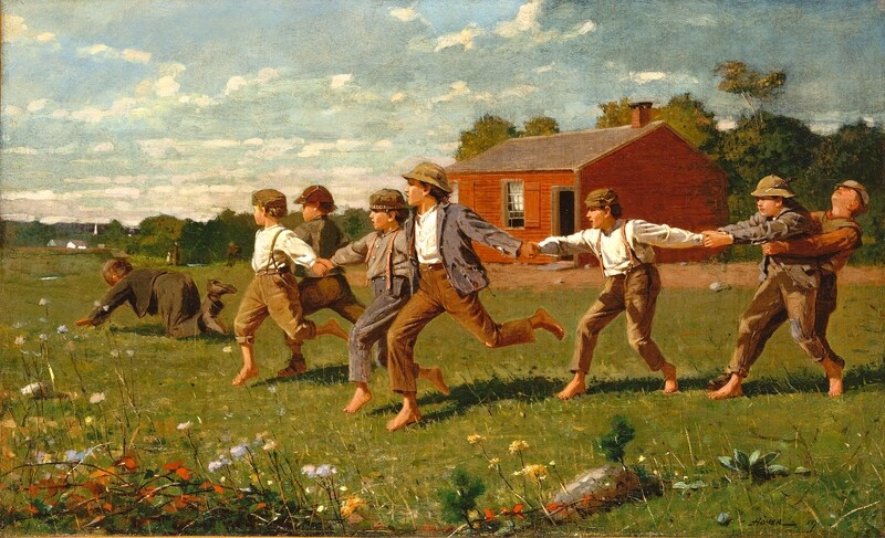 Winslow Homer | Snap the Whip 1872