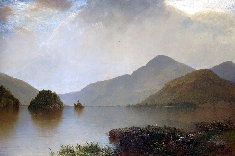 John Kensett | Lake George 1869