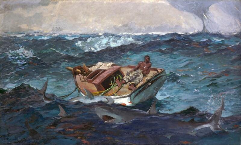 Winslow Homer | The Gulf Stream 1899