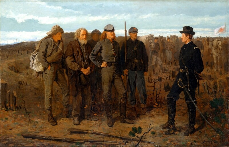 Winslow Homer | Prisoners from the Front 1866
